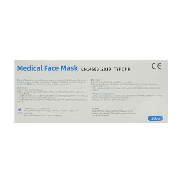 Cherish-50-Masken-Typ-IIR-Mund-Nase-Schutz-Mundschutz-3-lagig-mit-Vlies-und-Nasenbgel
