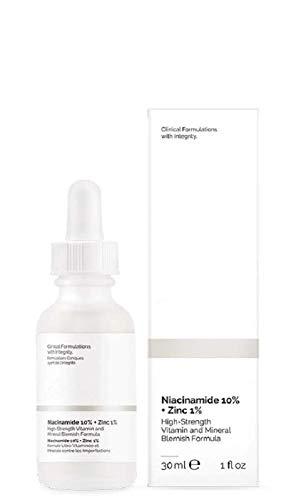 Niacinamide 10% + Zinc 1% Serum for Face - Pore Reducer + USA Skin Care (30ml)