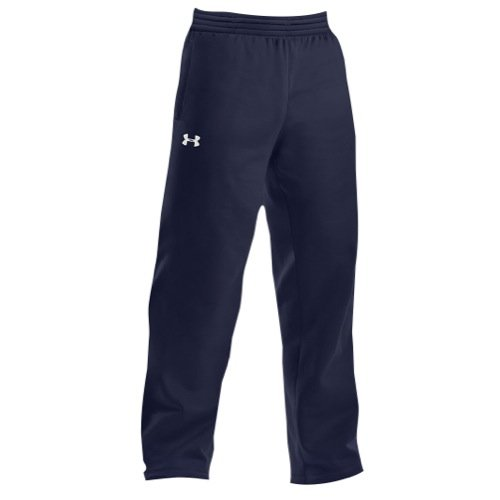 Under Armour Men's Armour Fleece Open Bottom Team Pants Bottoms by Under Armour