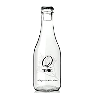 Q Drinks, Q Tonic Water, Spectacular Tonic Water, 9 Ounce Bottle (Pack of 24)