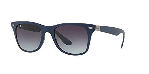 Ray-Ban Men's Nylon Man Square Sunglasses, Matte Blue, 52 - Nylon Sunglasses