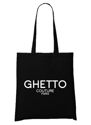 Ghetto Couture Bag Black