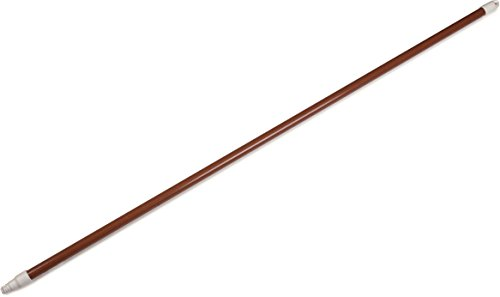 Carlisle 4122501 Sparta Commercial Fiberglass Handle with Self-Locking Flex-Tip, 48'', Brown (Pack of 12) by Carlisle