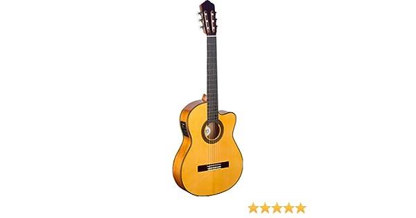 Ángel López CF1246CFI-S guitarra flamenca con Tapa de picea sólida ...