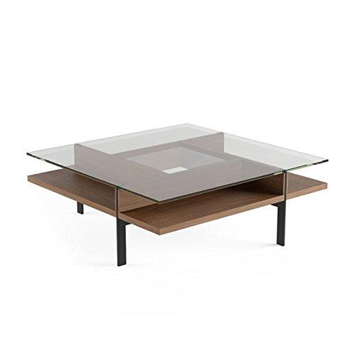 BDI Terrace 1150 Square Coffee Table (Natural Walnut) (Coffee Terrace)