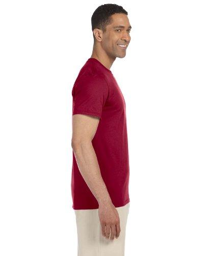 Gildan Softstyle, adult ringspun t-shirt Cardinal Red L - Adult Cardinal Red T-shirt