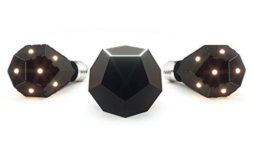 Nanoleaf NL15-0003 Ivy Smarter Kit, Rame, Nero, 7.5 watts