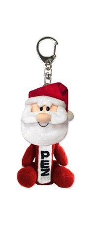 PEZ Plush Winter Collection Candy Dispenser with Keychain - 1 Piece Blister Pack (Santa Claus Plush)