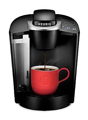 Keurig K55 Single Serve Programmable K-Cup Pod Coffee Maker, Black (Certified Refurbished) from Keurig
