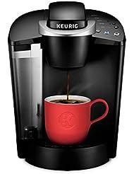 Keurig K55/K-Classic Coffee Maker, K-Cup Pod, Single Serve, Programmable, Black (Certified Refurbished)