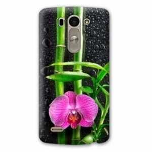 Amazon.com: Case Carcasa LG K10 Zen - - orchidee bambou N ...
