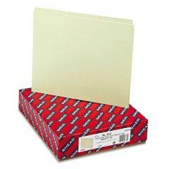 Wholesale CASE of 5 - Smead 1/3 Cut Pressboard Self Tab Guides-Pressboard File Guides,1/3 Tab Cut,Ltr,100/BX,Gray Green Pressboard Self Tab File Guides