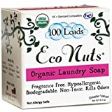 Organic Laundry Soap 100 Loads, 100 Loads 6.5 oz (Pack of 6)
