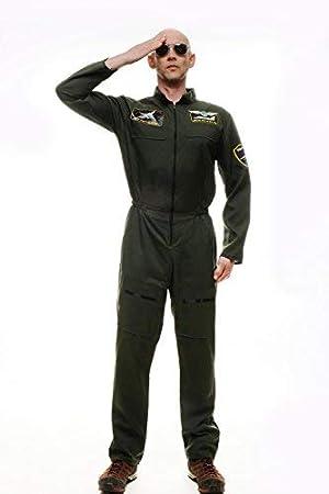 dressmeup Dress ME UP - Disfraz para Hombre piloto aviación ...