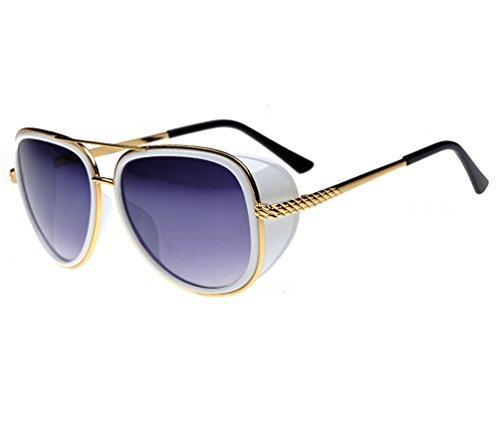Tansle Iron Man Tony Sunglasses Gold Fame With Edge Board 3 Color - Sunglasses Ironman 3