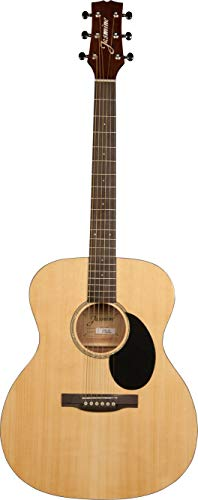 (Jasmine 6 String Acoustic Guitar, Right Handed, Natural (JO36-NAT))