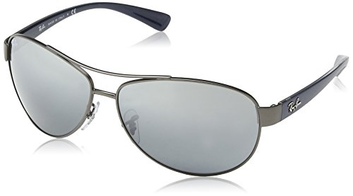 Ray-Ban 3386 029/88 Matte Gunmetal 3386 Aviator Sunglasses Lens Category 3 - Ban Sunglasses Aviator Ray Authentic
