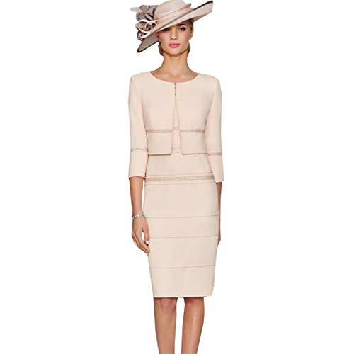 mother of the bride dresses and coat - 5