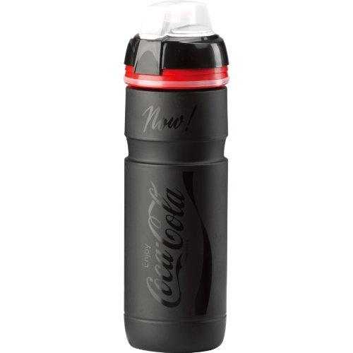 Elite Trinkflasche Supercorsa Coca-cola mit Deckel, schwarz matt /glanz, 750 ml, FA003514149