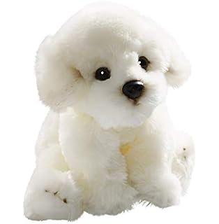 Carl Dick Bichón Perro Sentado de Peluche (Aprox. 24 cm