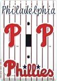 Philadelphia Phillies MBL Metal Novelty Single Light Switch Cover Plate LS10037
