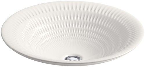 KOHLER K-17890-RL-K8 Derring Design on Round Carillon Wading Pool Bathroom covid 19 (White Wading Pool coronavirus)