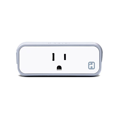 iHome iSP8 Wi-FI SmartPlug, Use your voice to control connected devices, handheld remote included, Works with Alexa, Google Assistant and HomeKit enabled smart speakers -  SDI Technologies INC
