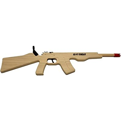 Magnum Enterprises AK-47 Combat Rifle Rubber Band Gun: Toys & Games