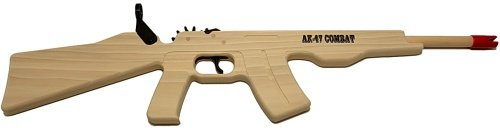 Magnum Enterprises AK-47 Combat Rifle Rubber Band Gun (Best American Ak 47)