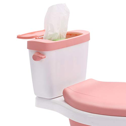 XWJC Children's Toilet Baby Girl Toilet Seat Baby Urinal Male Child Potty Ergonomic Design (Color : Pink) by XWJC (Image #2)