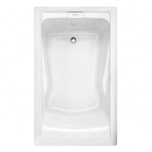 American Standard 2771V068C.020 Evolution 5-Feet by 36-Inch Deep-Soak EverClean Air Bath, White