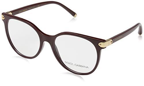 Men Sandals Gabbana Dolce - Dolce & Gabbana WELCOME DG 5032 BURGUNDY 53/17/140 women eyewear frame