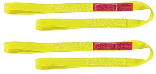Nylon Sling Standard (Liftall EE1601NFX3 Eye-Eye Web Sling, Nylon, 1