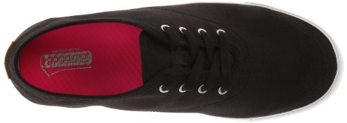 Skechers Performance Womens Go Vulcanized Strand Fashion Sneaker Nero / Bianco