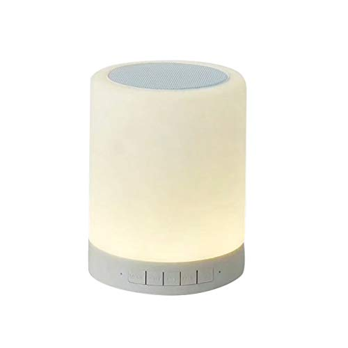 MChoice❤️Portable Smart Lamp Wireless Smart Control Color Changing Bluetooth Speaker