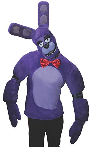 Rubie's Men's Five Nights at Freddy's Bonnie Costume, As As Shown, Extra-Large -