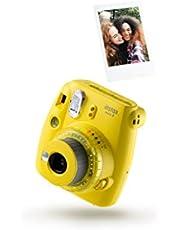 Fujifilm Instax Mini 9 Clear Camera met 10 schoten, Geel