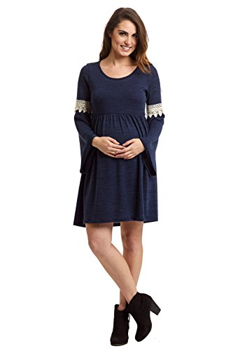 Buy bell sleeve crochet dress - 2