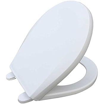 Potty Training Toilet Seat Round White Molded Plastic