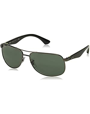 Men's ORB3502 029/8561 Aviator Sunglasses