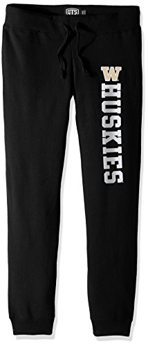 ies Women's Ots Fleece Pants, Large, Jet Black ()