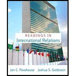 International Relations, Brief Edition, Goldstein, Joshua S. and Pevehouse, Jon C., 0135134145