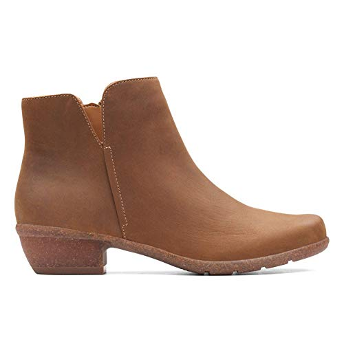 Boot Ankle Frost Leather Tan CLARKS Oiled Women's Wilrose xqf4H4