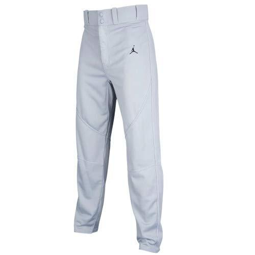 Nike(ナイキ) JORDAN/ジョーダン デレクジーター リスペクト オープン ヘム ベースボール (グレー) Large  B07KM5QY18