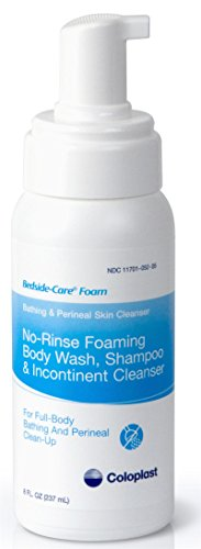 Coloplast Bedside Care No-Rinse Bathing and Perineal Foaming Skin Cleanser - 8 (Incontinent Wash)
