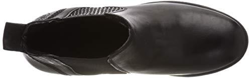 264 Lea 597 Femme Bottes 004 black Black Noir Chelsea 6dp0qxxR