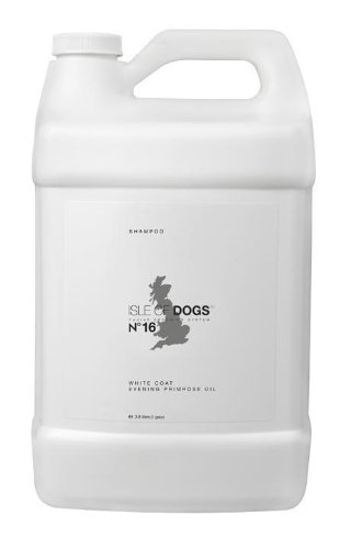 - Isle of Dogs COATURE No 16 White Coat Evening Primrose Oil Shampoo 1 Gallon