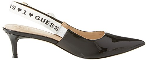 Guess Women's Footwear Dress Sling Back Closed Toe Heels Black (Black Black) WH2qeEe0M6