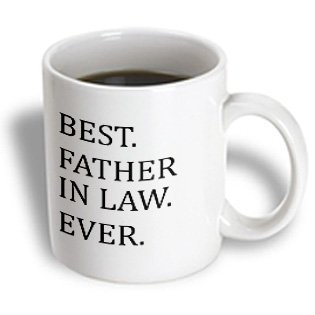 Amazon.com: 3dRose mug_151498_2 Best Father in Law Ever Fun ...