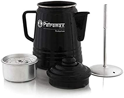 Petromax Esmalte cafetera Negro Negro Talla:1,5 L: Amazon.es ...